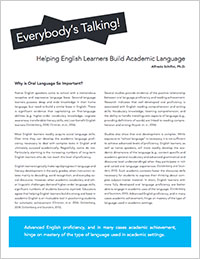 Helping English Learners Build Academic Language