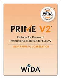 WIDA Prime V2 Correlation for Discussions4Learning